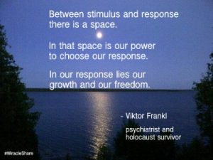 Frankl quote - space