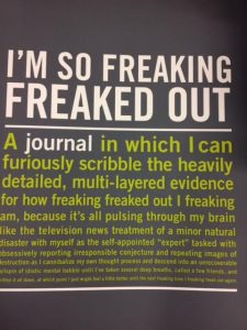 freaking out journal